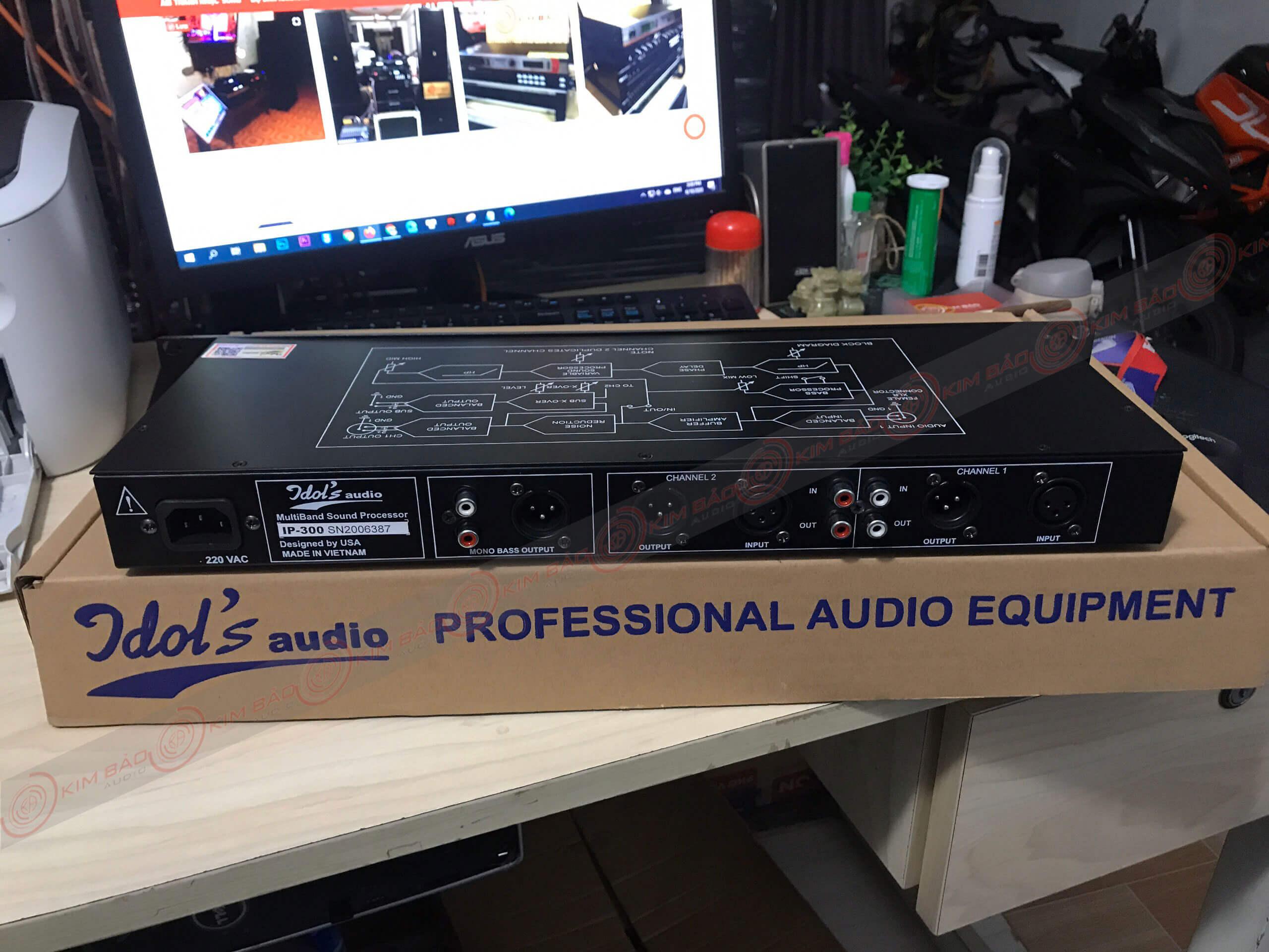 máy nâng tiếng Idol IP300