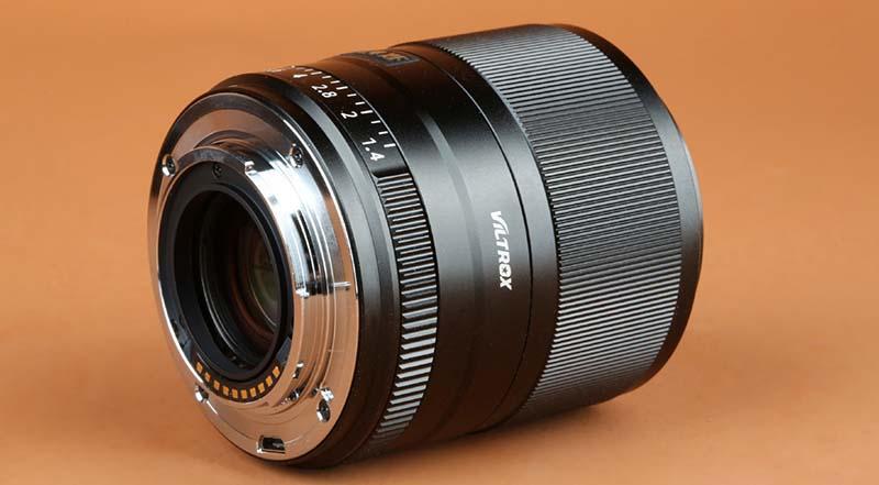 Cấu tạo của ống kính Viltrox 33mm F1.4 XF