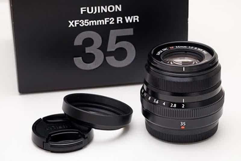 Ống kính Fujinon XF 35mm F/2 WR
