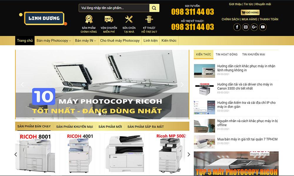 Linh Dương - Nơi cung cấp máy in cũ & mới chất lượng cao