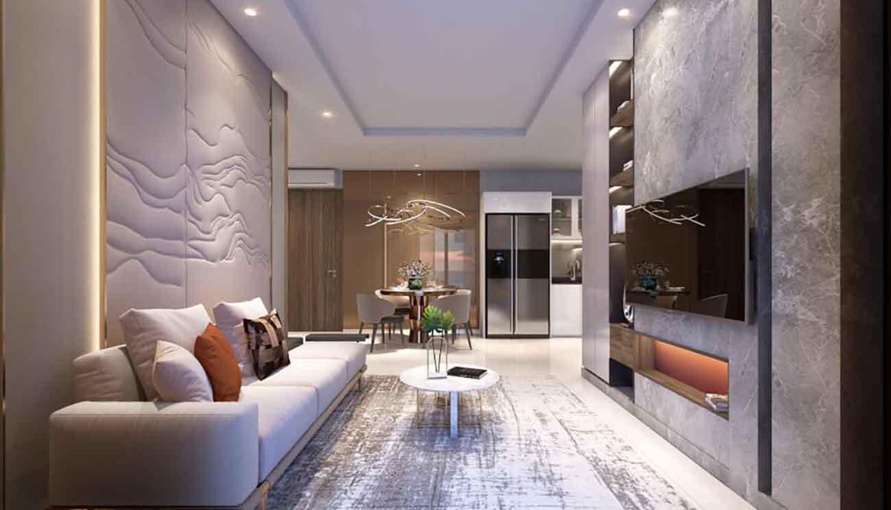 Dòng điện đầy đủ cho từng căn hộ